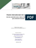 Charte internationale de la marche