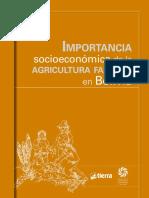 Importancia Socioeconomica de La Agricultura Familiar en Bolivia