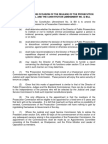 COMMUNIQUE ON THE OCCASION OF THE RELEASE OF THE PROSECUTION COMMISSION BILL AND THE CONSTITUTION (AMENDMENT NO. 3) BILL