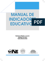 2009- Manual de Indicadores Educativos