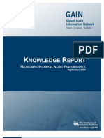 Knowledge Report -- Measuring Internal Audit Performance[1]