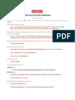Zabbix Install Manual