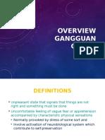 Overview Gangguan Cemas