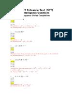 NET IQ Sequance Practice