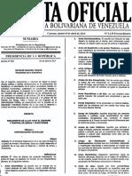 Gaceta Oficial REGLAMENTO LeyDesarme