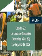 23 La Caida de Jerusalen