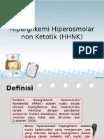 Hiperglikemi Hiperosmolar Non Ketotik (HHNK) Ppt