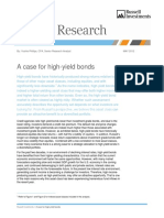 A Case for High Yield Bonds