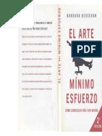 El Arte Del Mínimo Esfuerzo - Barbara Berckhan.pdf