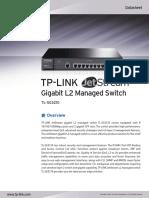 TL-SG3210 V2 Datasheet