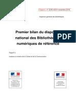 Bibliothèques Numeriques de Reference