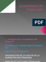 administracio financiera