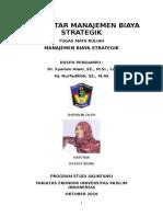 Manajemen Biaya Dan Strategi