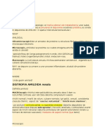 Distrofia amiloida