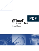 TOAD Install Guide