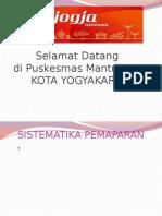 Presentasi Akreditasi Puskesmas Mantrijeron 2015