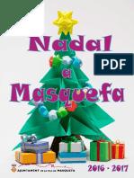 Diptic Festes Nadal a Masquefa 2016