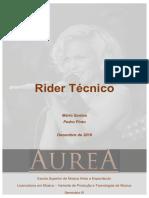 Rider Técnico_ Mario Santos e Pedro Pinto