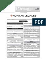 Resumen Normas Legales - Trabajo
