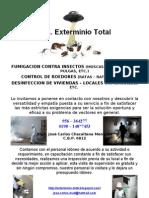 Afiche - Exterminio Total