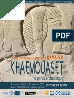 Musée Arles Antique_Khaemouaset_Octobre 2016