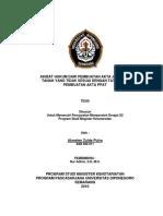 Akibat Hukum Dari Pembuatan Akta Jual Beli