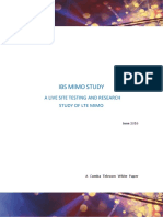 White Paper IBS MIMO Study 20160608
