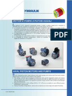 Axial Piston Pumps & Motors Catalogue