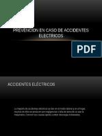 Prevencion en Caso de Accidentes Electricos