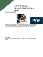 Desain Cover Buku Dengan Photoshop Dan Coreldraw