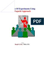 ! Design Of Experiments Using Taguchi Approach.pdf