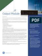 D20 Control Output Module