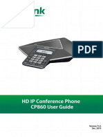 Yealink CP860 User Guide V72.2