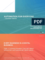 Automation for Everyone