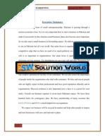 marketing project of failure company