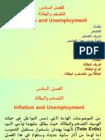 الفصل السادس التضخم والبطالة
