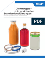 Dichtungslösungen für die Lebensmittel- und Getränkeindustrie