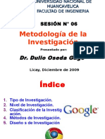 SESION N° 06 - METODOLOGIA DE LA INVESTIGACION.ppt- arreglado