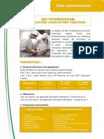 1 BAC PRO Boucher Charcutier Traiteur