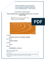 Resumen Modificaciones de Las NIIFs