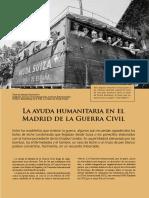 La Ayuda Humanitaria en El Madrid de La Guerra Civil