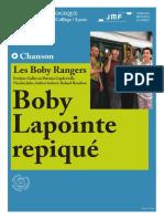 JMF-Boby Lapointe Repiqué