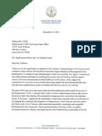 Robley Rex VAMC EIS Letter