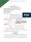 U.S. Attorney response to detention