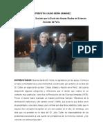 Entrevista Hugo Neira UNMSM