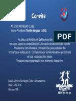 Convite Rio Negro