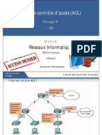 10- Filtrage IP - ACL - ESTA.pdf