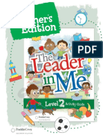 Level 2 Teacher Sampler