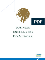 Business Excellence Framework