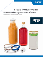 Machined seals flexibility and  standard range convenience